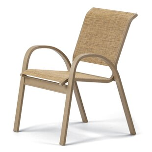 Aruba II Stacking Patio Dining Chair (Set of 4)