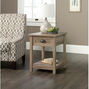 Rossford 1 Drawer Nightstand Three Posts