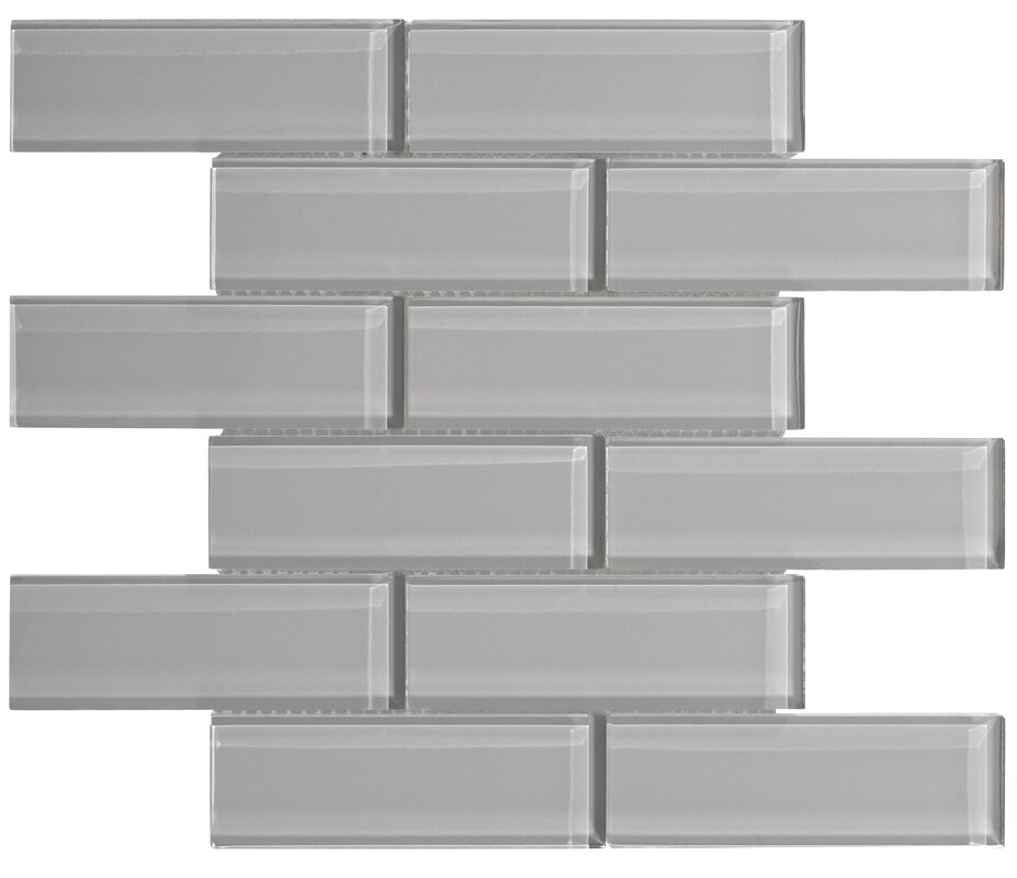 Ws Tiles Premium Series 2 X 6 Gl Subway Tile In Dark Gray