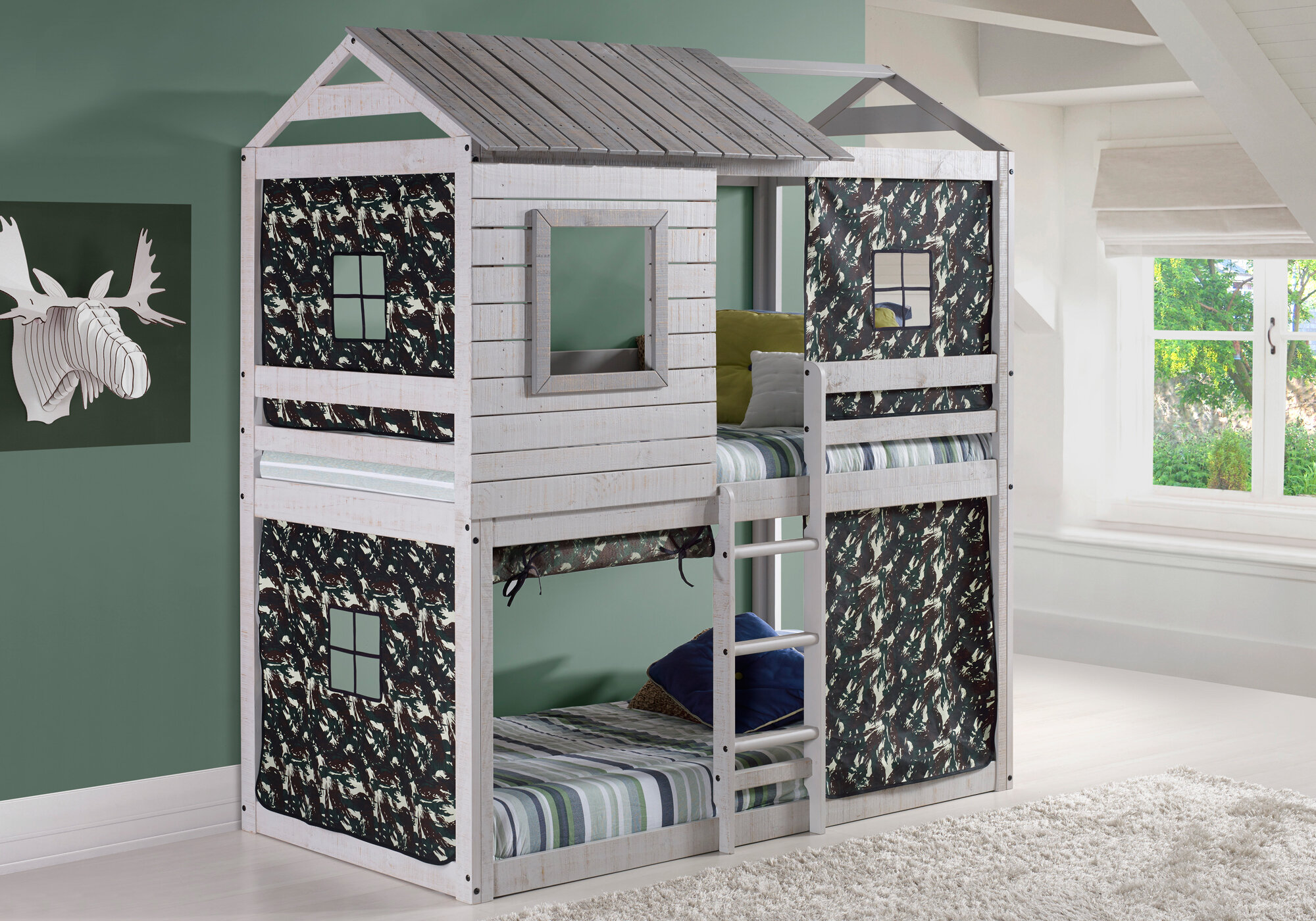 Zoomie Kids Alpha Centauri Bunk Bed