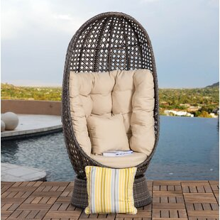 Hearn Outdoor Patio Chair with Cushion