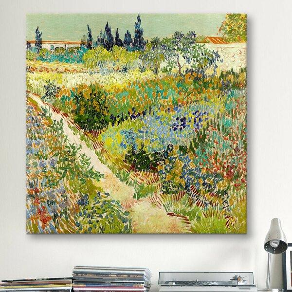East Urban Home U0027The Garden At Arlesu0027 By Vincent Van Gogh Photographic  Print U0026 Reviews   Wayfair