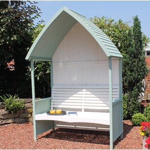 Yatesville Wooden Arbour By Sol 72 Outdoor