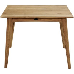 Estes Teak Dining Table By Gracie Oaks