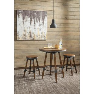 Kaiden 3 Piece Pub Table Set