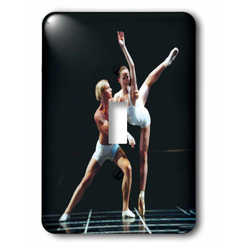 3drose Ballet Dance 1 Gang Toggle Light Switch Wall Plate Wayfair