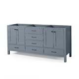 Woodrow Billy 60 Double Bathroom Vanity Base Only by Home Loft Concepts