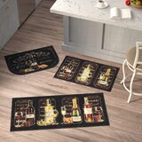 3 Piece Kitchen Rug Sets | Wayfair