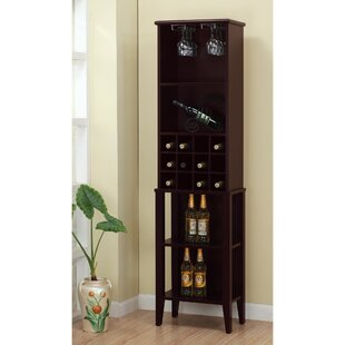 Rumsey Elegant 12 Bottle Floor Wine Rack ..