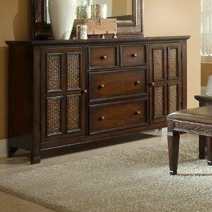 Kingston Isle 4 Drawer Combo Dresser by Progressive Furniture Inc.