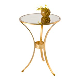 Worlds Away 3 Leg End Table