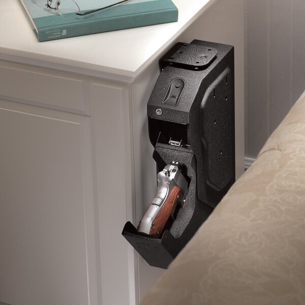 Captivating GunVault SpeedVault Biometric Lock Gun Safe U0026 Reviews | Wayfair