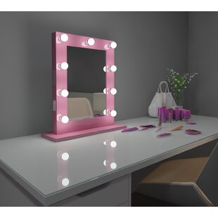 Check Prices Tarek Vanity Makeup/Shaving Mirror By Everly Quinn