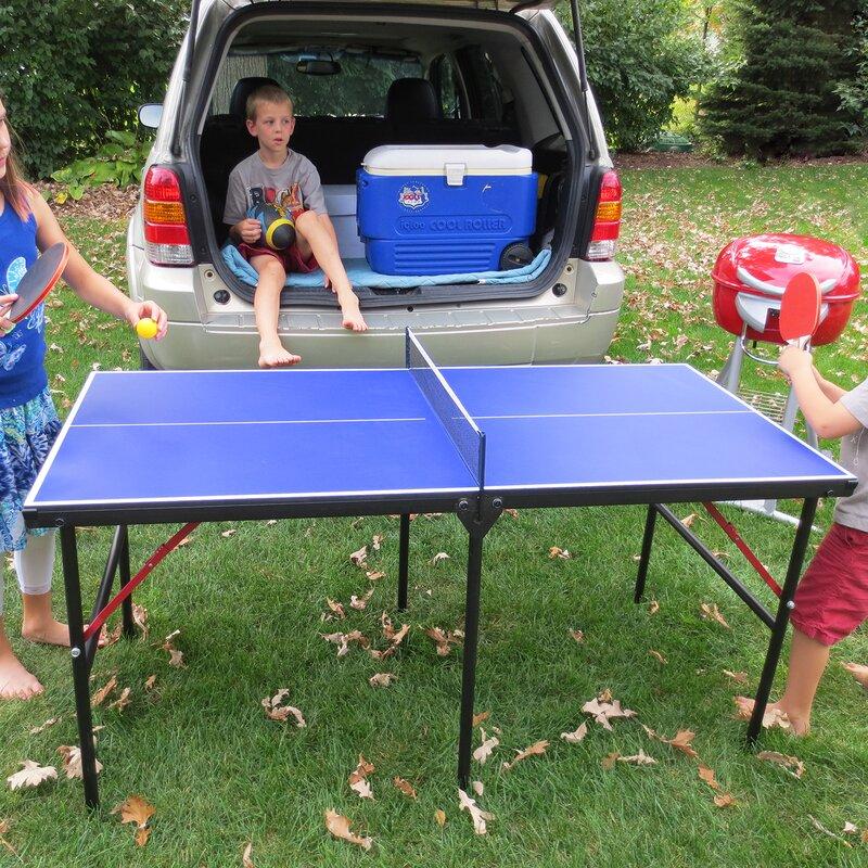 60  Portable Table Tennis & Park u0026 Sun Mini Table Tennis u0026 Reviews | Wayfair