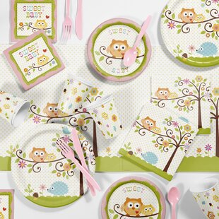 Happy Tree Girl Baby Shower Kit