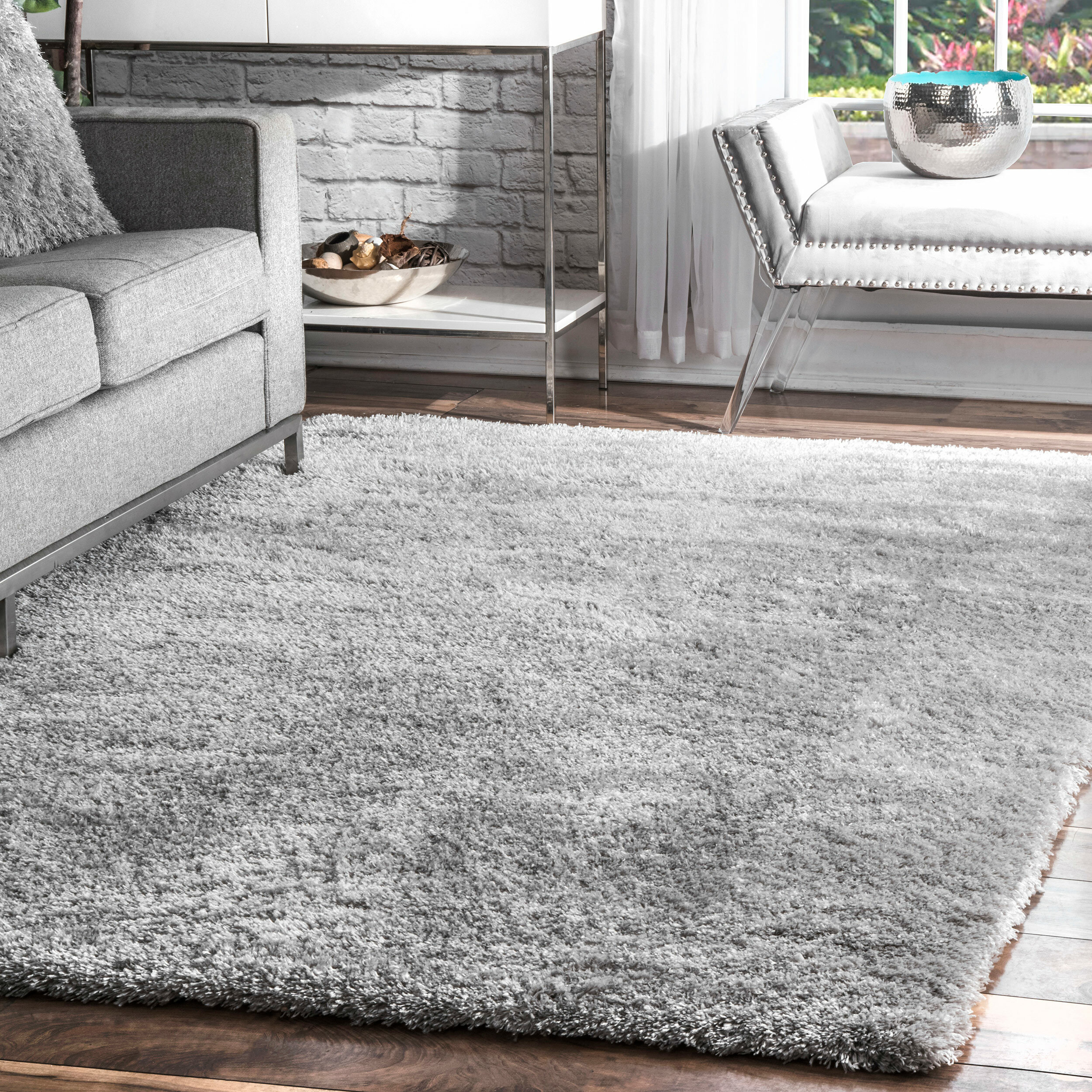 Picture of: Mack Milo Altamont Silver Gray Area Rug Reviews