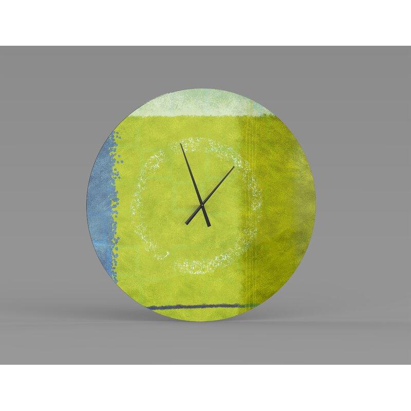 Orren Ellis Oversized Clincy Wall Clock Wayfair