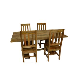 Harley 5 Piece Dining Set Millwood Pines