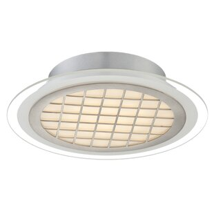 Latitude Run Thuong 1-Light Semi Flush Mount