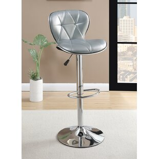 Price Check Yearwood Adjustable Height Swivel Bar Stool (Set of 2) by Brayden Studio