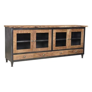 Hessler Live Edge TV Stand for TVs up to 88 by Loon Peak
