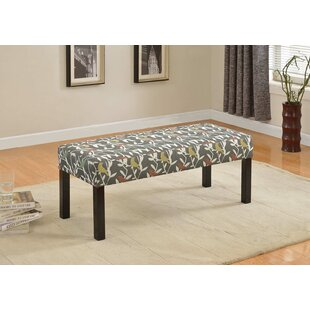 Cournoyer Upholstered Bench by Winston Porter Fresh