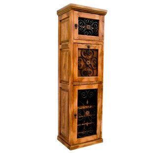 16 Bottle Floor Wine Cabinet