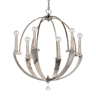 Brayden Studio Campa 6-Light Globe Chande..