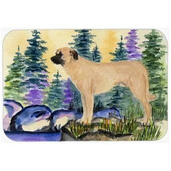 Caroline S Treasures Christmas Favorite Gift Dalmatian Bath Rug Wayfair