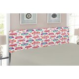 Owls Upholstered Panel Headboard by East Urban Home