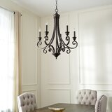 Cambron 5-Light Candle Style Classic / Traditional Chandelier