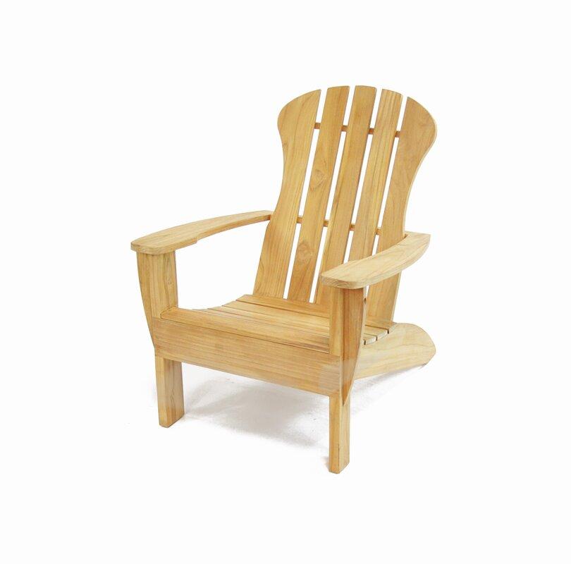 Barnhardt Solid Wood Adirondack Chair