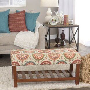 Loganville Fabric Storage Bench