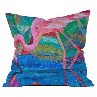 Flamingo Outdoor Pillow Wayfair