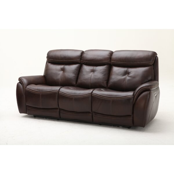 Fabulous Homerun Leather Reclining Sofa Download Free Architecture Designs Grimeyleaguecom