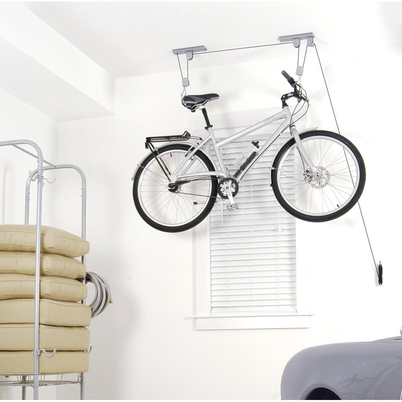 Ceiling Bike Rack >> Wfx Utility Hoist 101 Ceiling Mounted Bike Rack Wayfair