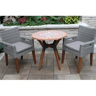 Roseland 3 Piece Dining Set by Beachcrest..