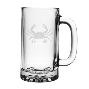 Crawling Crab 16 oz. Pub Beer Mug (Set of 4)