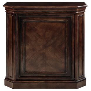 Bard Bar Cabinet with Spindle by Darby Home Co