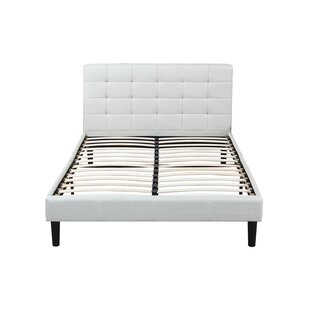 Classic Deluxe Linen Low Profile Platform Bed by Madison Home USA