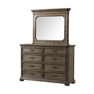 Cordle 8 Drawer Double Dresser by Gracie Oaks
