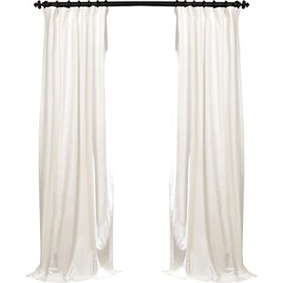 100 x 84 curtain panel wayfair bryce 100 cotton solid blackout thermal rod pocket single curtain panel