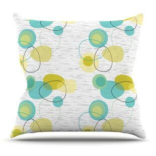 Vaniretro By Nina May Outdoor Throw Pillow by East Urban Home