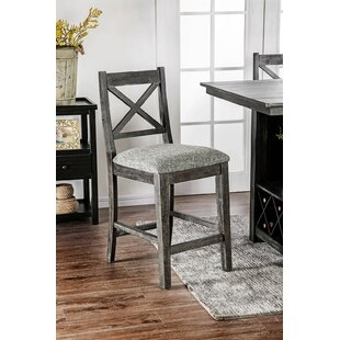 Reseda Fabric Upholstered Dining Chair (Set of 2)