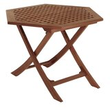 Friar Folding Teak Side Table