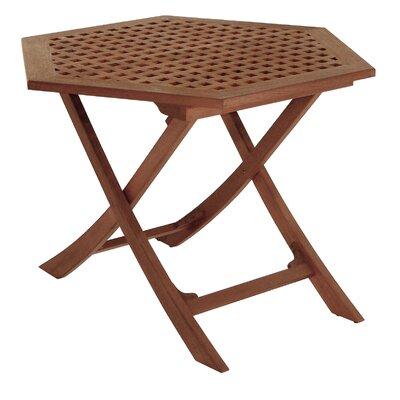 Friar Folding Teak Side Table by Whitecap Teak Find