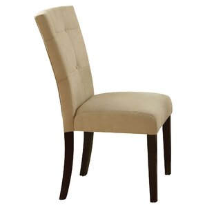 Ebern Designs Guyette Upholstered Dining Chair (Set of 2)
