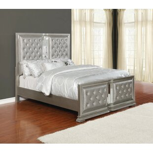 Inexpensive Shaniya Upholstered Panel Bed by Rosdorf Park Reviews (2019) & Buyer's Guide