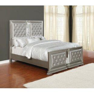 Bargain Shaniya Upholstered Panel Bed by Rosdorf Park Reviews (2019) & Buyer's Guide