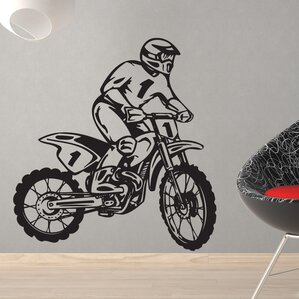 ... Dirt Bike Wall Stickers Sports Wall Decals You Ll Wayfair ... Part 53